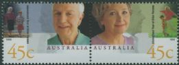 AUS SG1844a International Year of Older Persons pair